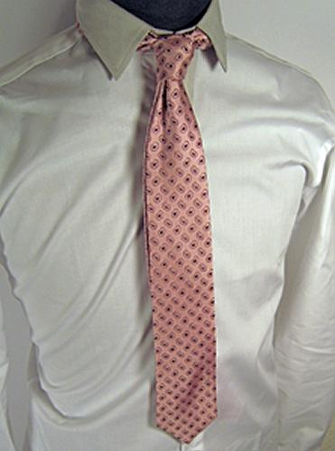 pink paisley tie. REVERSIBLE SILK TIE#39; BY GIBSON